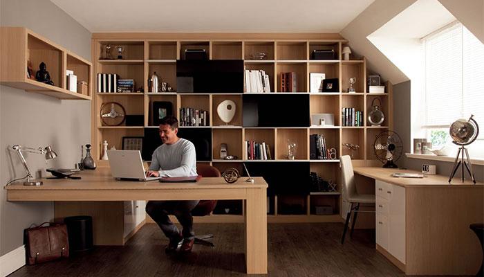 Kantoor aan huis maken architectdirect - Ontwerp huis kantoor ...