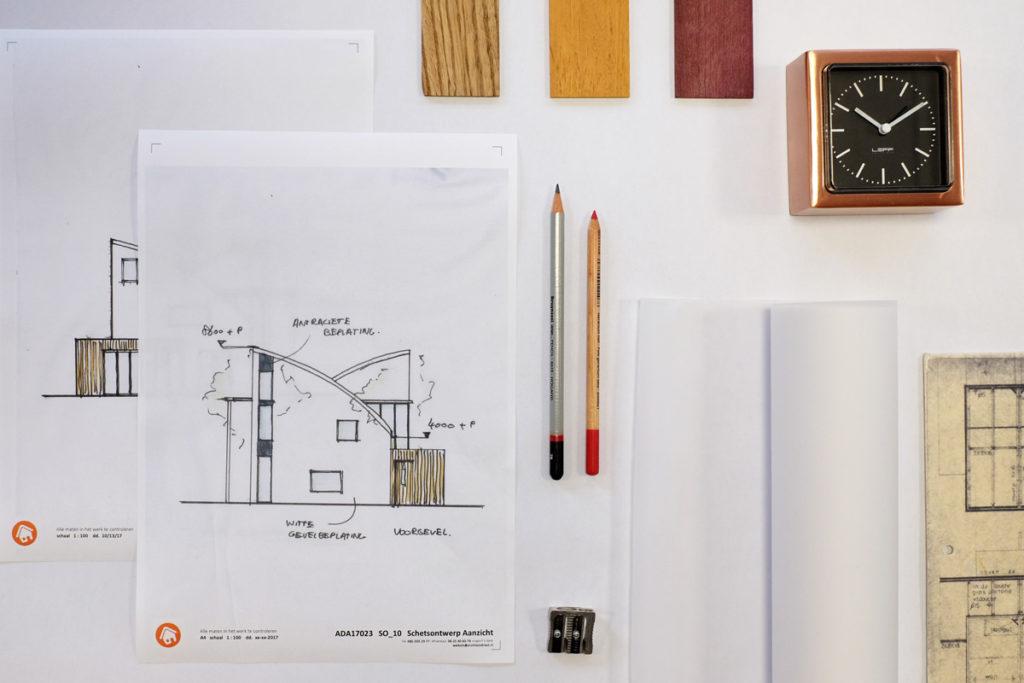 ArchitectDirect Architect Bouwtekening Schetsontwerp Vergunning Aanvraag Goedkoop