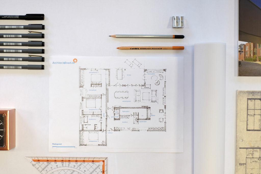 ArchitectDirect Architect Bouwtekening Schetsontwerp Vergunning Aanvraag
